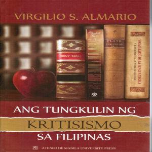 Ang Tungkulin ng Kritisismo sa Filipinas