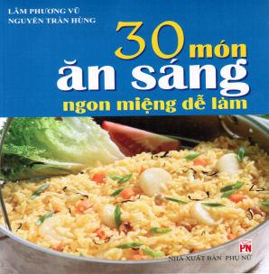 30 mon an sang ngo mieng de lam