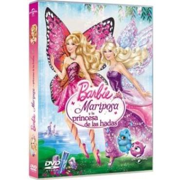 Barbie mariposa y las princesas de las hadas