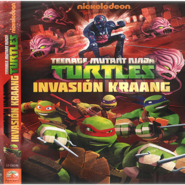 Teenage mutant ninja turtles invasion kraang
