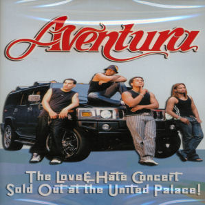 Aventura: The Love & Hate Concert (DVD)
